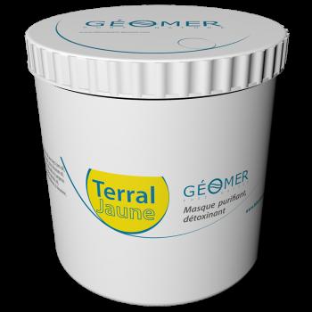 Terral Jaune - Pot 500 ml - Masque à l'argile