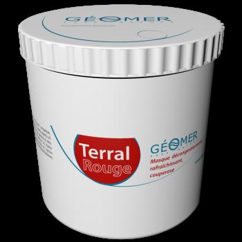 Terral Rouge - Pot 500 ml- Masque à l'argile