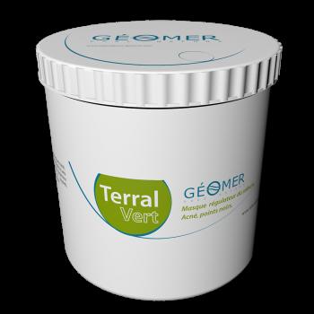 Terral Vert - Flacon 500 ml - Masque à l'argile