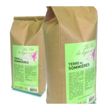 Eco-conseils® - Détachant écologique- Terre de Sommières 2KG - Emballage écologique