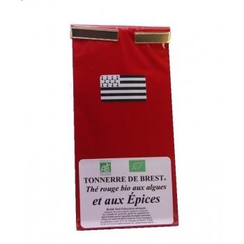 Thé rouge aux Algues marines et aux Epices - 50 gr
