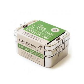 Three-In-One Classic - Lunch box inox Ecoluncbox