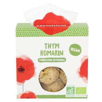 Biscuits au Thym Romarin