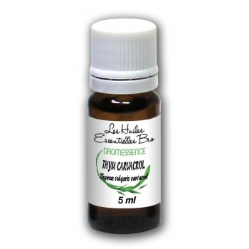 Huile essentielle Thym Carvacrol BIO 5 ml DROMESSENCE