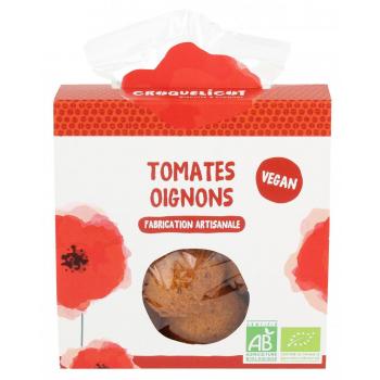 Biscuits à la Tomate et à l'Oignon