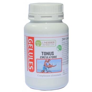 Tonus circulatoire Bio - Herbier de Gascogne - 200 gélules