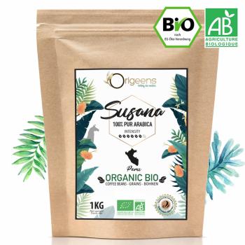 Susana - Café Grain Bio 1kg - Single Origin Pérou 100% Arabica - Torréfaction Artisanale