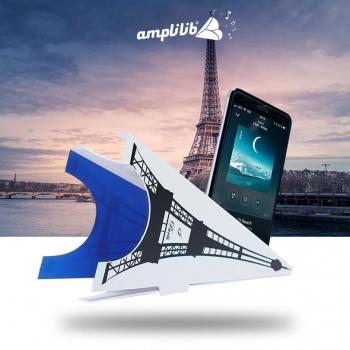 AMPLILIB l'enceinte écologique – Made in France- Coloriage