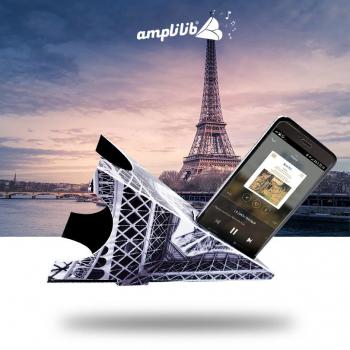 AMPLILIB l'enceinte écologique - Made in France - Modèle Structure