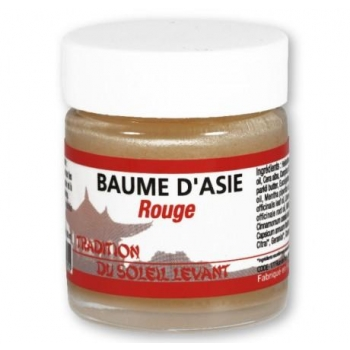 Baume d'Asie rouge - pot de 30 ml