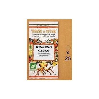 Tisane à sucer Biopastille  Ginseng / Cacao