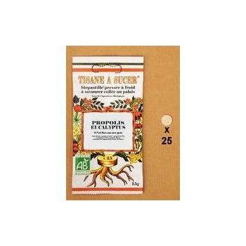 Tisane à sucer Biopastille Propolis / eucalyptus