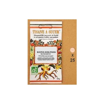 Tisane à sucer Biopastille Reine des près / mandarine