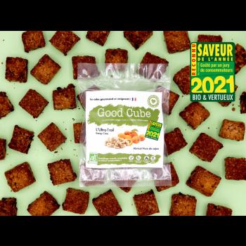 """Biscuits gourmands aux abricots et noix de cajou """"L'Ultra-Trail"""" BIO - boost d'énergie - 35g"""