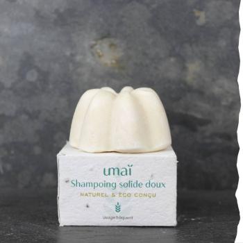 shampoing solide doux Umai