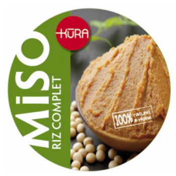 Miso Bio frais moyen de riz 1/2 complet jeune 10mois+ - 500g