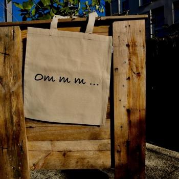 Sacs coton recyclé, message au choix !