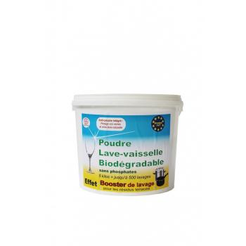 Poudre lave-vaisselle biodégradable POWERPAT 5 kg