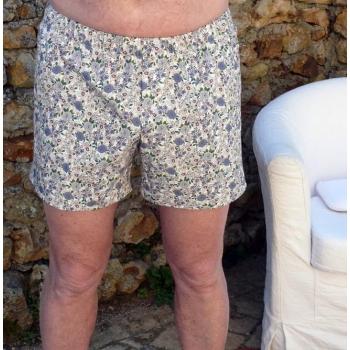 Caleçon homme coton écologique Violette