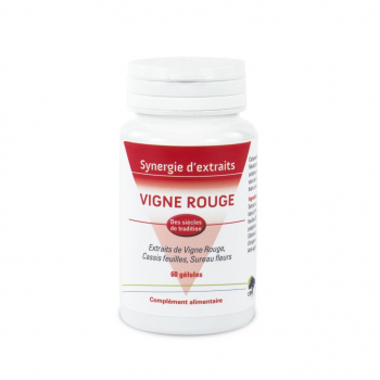 Vigne Rouge extraits synergisés et concentrés