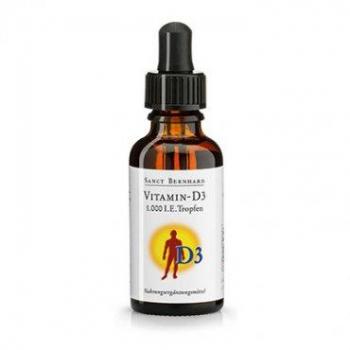 Vitamine D3 liquide,( 8 mois ) Extrapuissante, 1000 UI, 30 ml