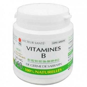 vitamine-b-100-naturelles-vecteur-sante