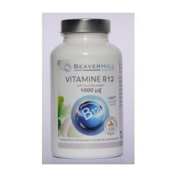VITAMINE B12 - 1000 µg - 120 gélules / 4 mois