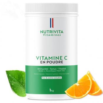 Vitamine C pure en poudre - Acide L(+) Ascorbique - 1kg