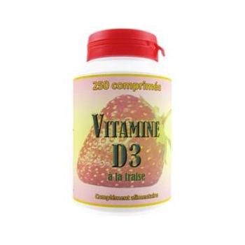 Vitamine D3 250 comprimés