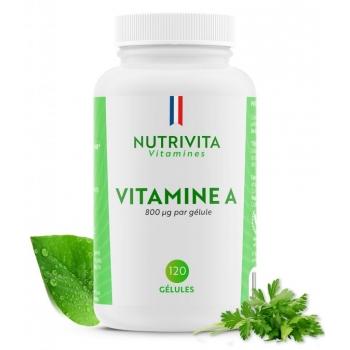 Vitamine A 800mcg - 120 gélules