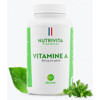 Vitamine A 800g - 120 gélules