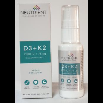 Vitamine D3+K2 Nutrient 20 ml