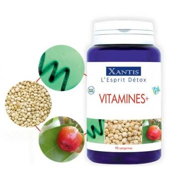 Vitamines+ 90 comprimés / 30 jours