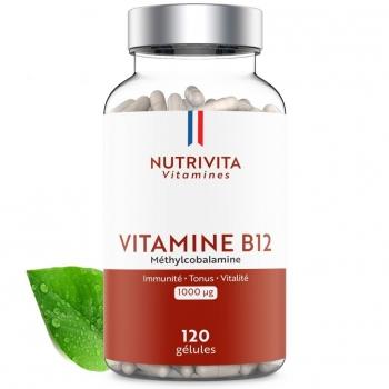 Vitamine B12 (méthylcobalamine) 1000mcg - 120 gélules