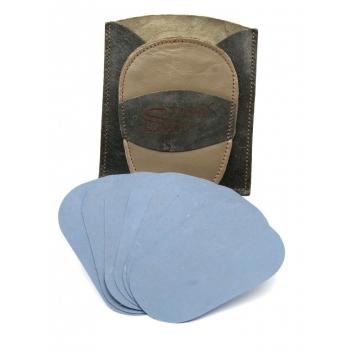 Gant d'exfoliation et d'épilation Kit Bicolore Kaki/gris