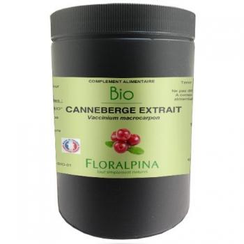 canneberge extrait bio 1000 gélules