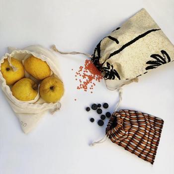 Trio de sacs à vrac