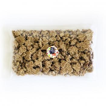 Muesli croustillant (Granola) Bio Pomme Cannelle 1kg - sans gluten - Format économique Vrac