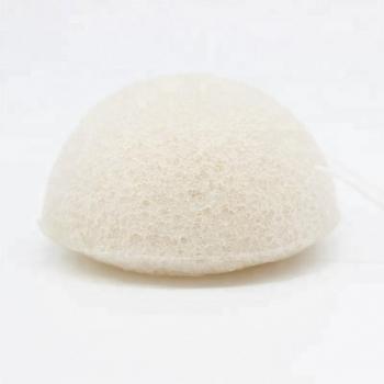 Eponge Konjac blanche 100% végétale