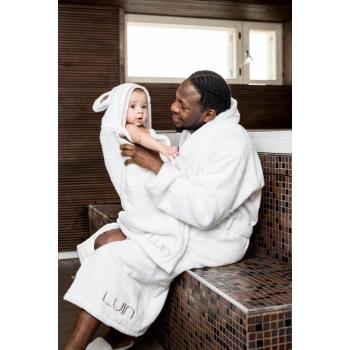 Serviette-cape bébé/enfant 0-5 ans SNOW sauna