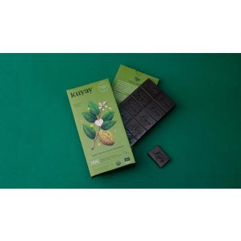 Chocolat noir Kuyay 70% à la mangue - pur origine Pérou