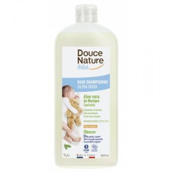 Bain shampooing ultra doux sans sulfates, hypoallergénique