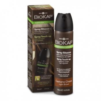 Spray Retouche Châtain Clair - 75ml - Biokap