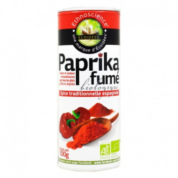 Paprika Fumé Bio - 100g - Écoidées