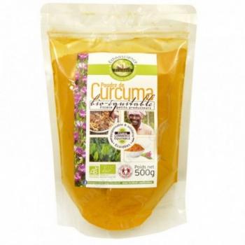 Poudre de Curcuma Bio - 500gr - Écoidées