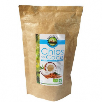 Chips de Coco Muscovado Bio - 90gr - Écoidées