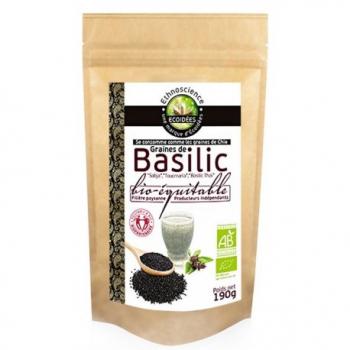 Graines de Basilic Bio Equitable - 190g - Écoidées