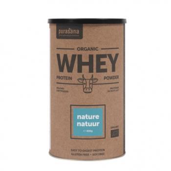 Protéine Whey Nature - 400g - Purasana