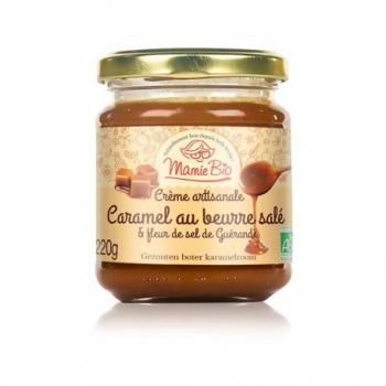 Caramel au Beurre Salé - 220g - Mamie Bio