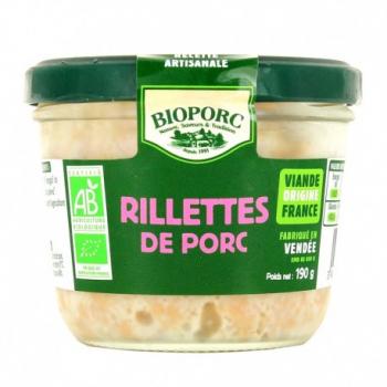 Rillette porc bioporc